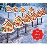 Gingerbread House Pathway Light Set christmas deals week