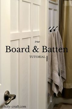 I have always loved the look of finished molding and have been wanting to attempt board and batten for a long time. We finally decided to give it a try in our k…