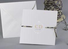 Simply White #Hochzeitskarten mit dem einzigartigen #LibertyBand #kreativehochzeitskarten #einladungskarten  Square One Sky M10-000-L