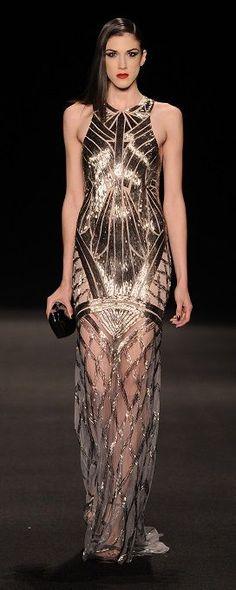 Monique Lhuillier Fall 2015 - Look 26 at Moda Operandi
