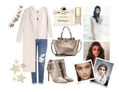 """""""15 décembre 2015: Sky"""" by l-bourdon ❤ liked on Polyvore featuring Topshop, Rebecca Taylor, Acne Studios, Valentino, Salvatore Ferragamo, Bethany Lowe, DwellStudio and Dolce&Gabbana"""
