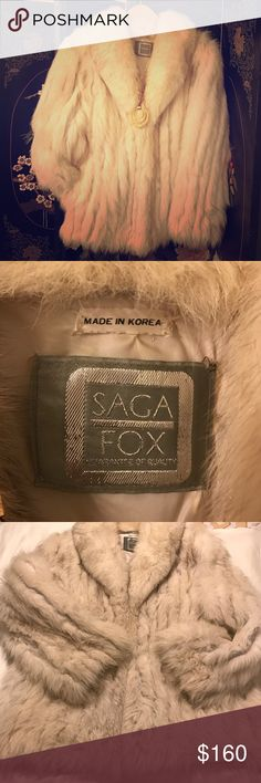 Gorgeous Fox fur coat. Unbelievably stunning Fox fur coat. Just gorgeous. Fabulous. *Perfect* condition. I love this piece... Saga Fox Jackets & Coats