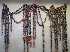Large Scale Organic Installations Made From Bright Balls Of Fabric   Beautiful/Decay Artist & Design