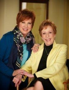 Vicki Lawrence and Carol Burnett