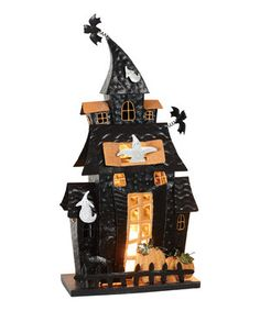 Another great find on #zulily! Metal Halloween House Décor by Transpac Imports #zulilyfinds