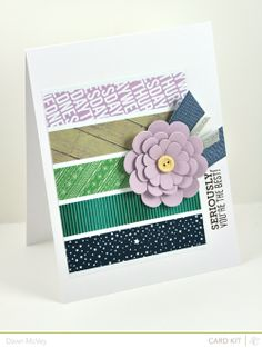 Cute card to use up scraps