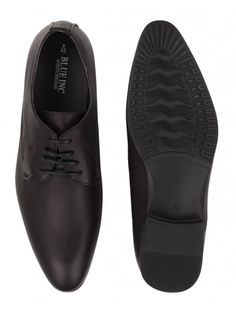 Smart black formal shoes for men in a streamlined design and almond toe with stitched detailing and lace-up fastening. Black Formal Shoes, Formal Shoes For Men, Fathers Day Gifts, Oxford Shoes, Dress Shoes, Lace Up, Gift Guide, Blue, Fashion