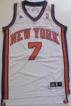 Adidas Swingman  NBA Jersey New York Knicks Carmelo Anthony White Sz L from   9.99 3cef5bb22