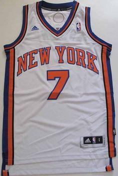 Adidas Swingman #NBA Jersey New York Knicks Carmelo Anthony White Sz L from $9.99