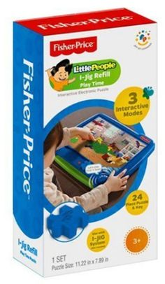 """Fisher Price I-Jig Interactive Electronic Puzzle System Refill """"Play Time"""" #ebay #trinital #FisherPrice"""