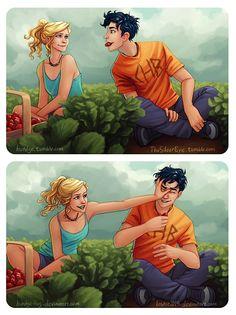 Annabeth Chase & Percy Jackson (Artwork)