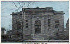 Hartford City, IN Carnegie library