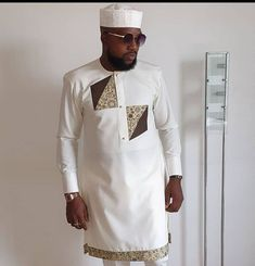 Latest African Wear For Men, African Shirts For Men, African Dresses Men, African Men Fashion, African Wear Designs, Mens Traditional Wear, Native Wears, Mega Fashion, Native Style