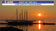 SHOT OF THE DAY: A glorious shot of the York River!  Looks like a postcard doesn't it?