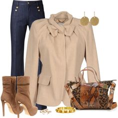 Casual Friday Attire, created by kginger on Polyvore