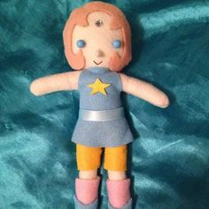 Steven Universe Plush  Pearl  MADE TO ORDER by ChibiChain on Etsy