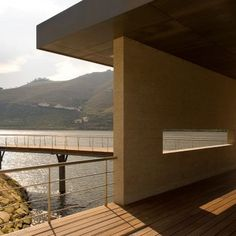 Fluvial and Tourist Quay of Folgosa: Project: Fluvial and Tourist Quay of Folgosa Architects: Saraiva + Associados Location: Regua, Portugal Year: 2012The redevelopment of the quay in a UNESCO world heritage site brought about the creation of a new landscape area, a beaching ramp, and a tourist area comprised of new buildings and walkways. Local materials such as wood and stone were used in the construction of the two buildings on site. The buildings are built on metal structure over…