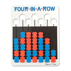 Melissa & Doug Travel Game - Four In A Row