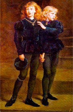 El 17 de Agosto de 1483 ,día que se supone fueron asesinados ,en la Torre de Londres Eduard V y su hermano Richard Duque de York .