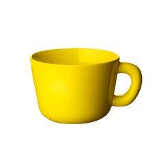 Bulky teekuppi 2 kpl, keltainen
