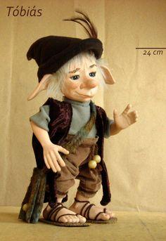 Goblin BJD doll. Art doll, ooak. Full body porcelain ball jointed doll by LegendLand Dolls