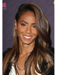 Jada Pickett Smith looking gorgeous with her hair color