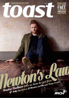 Newton Faulkner Cover TOAST MAGAZINE November 2015 (UK)