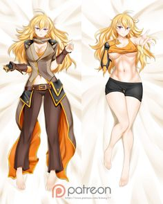 Yang Xiao Long Vol. 5 Dakimakura | RWBY | Know Your Meme