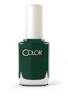 Color Club: Artsy Crafty. Gorgeous dark forest green hue.