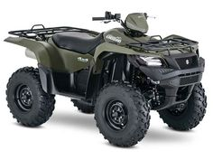 New 2016 Suzuki KingQuad 500AXi ATVs For Sale in Alabama. 2016 Suzuki KingQuad 500AXi Trusted. Rugged. Reliable. The rugged and reliable KingQuad 500AXi receives a few new changes that provides smoother acceleration, quicker throttle response, and a stronger feel in the mid-high RPM range. The front end of the quad gets a newer aggressive stance while side panel change allows you to easily check your oil level without removing any body parts. Over three decades, Suzuki literally invented the…