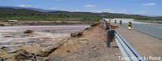 TouwRiver in flood Western Cape