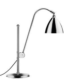 GUBI // Bestlite Table Lamp in all chrome Scandinavian Design Centre, Black Table Lamps, Global Design, Lamp Design, Churchill, Bauhaus, Desk Lamp, Home Furnishings, Chrome