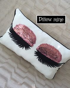 Eyelash pillow Lash pillow Lash room decor
