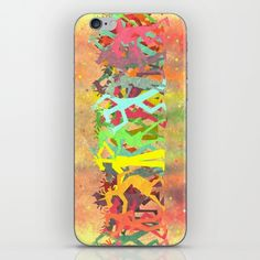 Conga Line Unicorns iPhone & iPod Skin