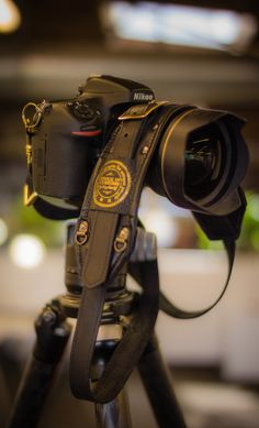 A Day at the Pinterest HQ: Here's the camera that I used (The Nikon D800) with custom leather & brass strap to make many of the images on this board. The other camera I used was the Sony NEX-7.  I have all my equipment located on another Pinterest board here...        - photo from #treyratcliff Trey Ratcliff at http://www.StuckInCustoms.com - all images Creative Commons Noncommercial