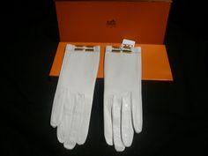"Vintage Hermes Gloves. ""Repinned by Keva xo""."