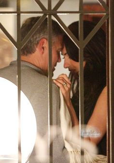 George Clooney and Amal Alamuddin @Harry's Bar Italy  Sep 8, 2014