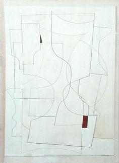 Ben Nicholson OM, 'July 27-53 (ivory)' 1953