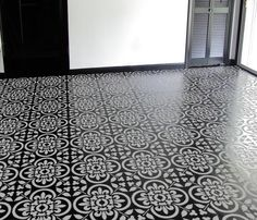 Moroccan Tile No. 4 Pattern Stencil