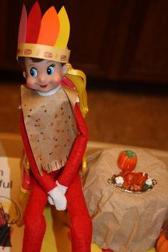 Indian Thanksgiving Elf on the Shelf....