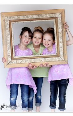 cute photo idea - hold a frame