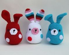 2000 Free Amigurumi Patterns: Bunny Fluff - a free Amigurumi crochet pattern