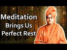 Meditation Videos, Daily Meditation, Swami Vivekananda, Bring It On, Rest, Movie Posters, Movies, Film Poster, Films