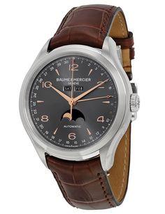 Baume et Mercier Clifton Complete Calendar Black Dial - Еще одна версия часов с календарем от Бом & Мерсье | Luxurious Watches