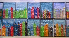 Talvi kaupungissa Sprinkles, Crafts, Craft, Manualidades, Handmade Crafts, Arts And Crafts, Artesanato, Crafting