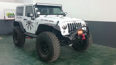 """Jeep jk 2dr Bds Longarm on 40"""" Maxxis"""