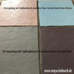 Fliesen Streichen Und Fußboden Versiegeln, Fußbodenlack Autentico Floor  Varnish, Frescolini, Autentico Chalk Paint