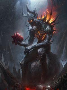 legend of the cryptids , Dong geon Son on ArtStation at https://www.artstation.com/artwork/eR8vG