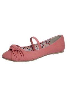 Pæne lyserøde ballerinasko fra Zalando. Et godt valg til unge piger, der mangler fodtøj til sommerperioden. Ballerinaerne er fra Fullstop.