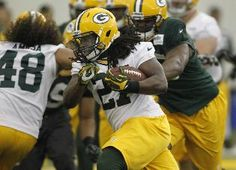 Packers running backs are a variety of sizes, shapes and styles-Eddie Lacy